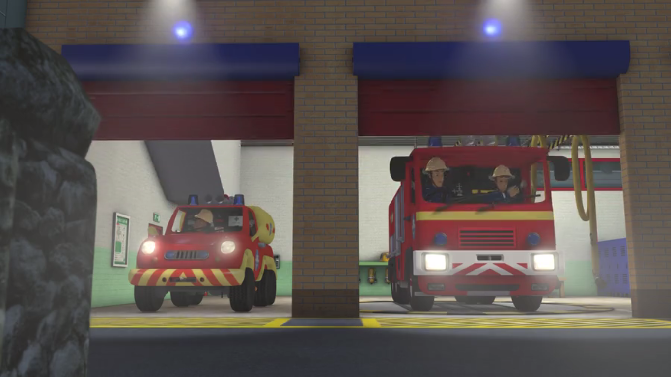 Fire station bays.png - Fire Station PNG HD