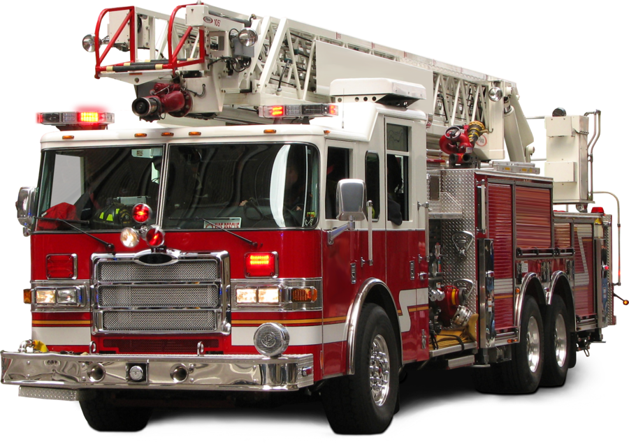 Fire Truck Backgrounds on Walls Cover - Fire Station PNG HD