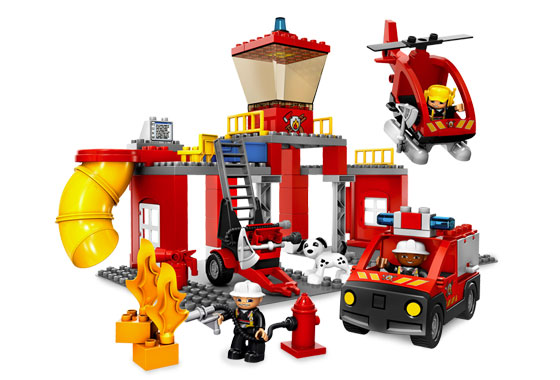 Lego Fire Station - Fire Station PNG HD