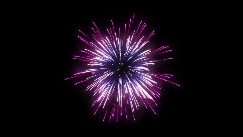 Firework Background - HD stock video clip - Firework HD PNG