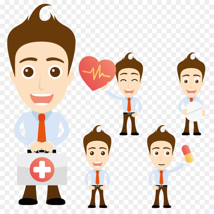 Cartoon Royalty-free Stock illustration Illustration - Mention first aid  kit doctor buckle creative HD Free - First Aid PNG HD Images
