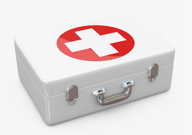 White shiny first aid kit HD photographic images, White First Aid Kit,  White Background - First Aid PNG HD Images