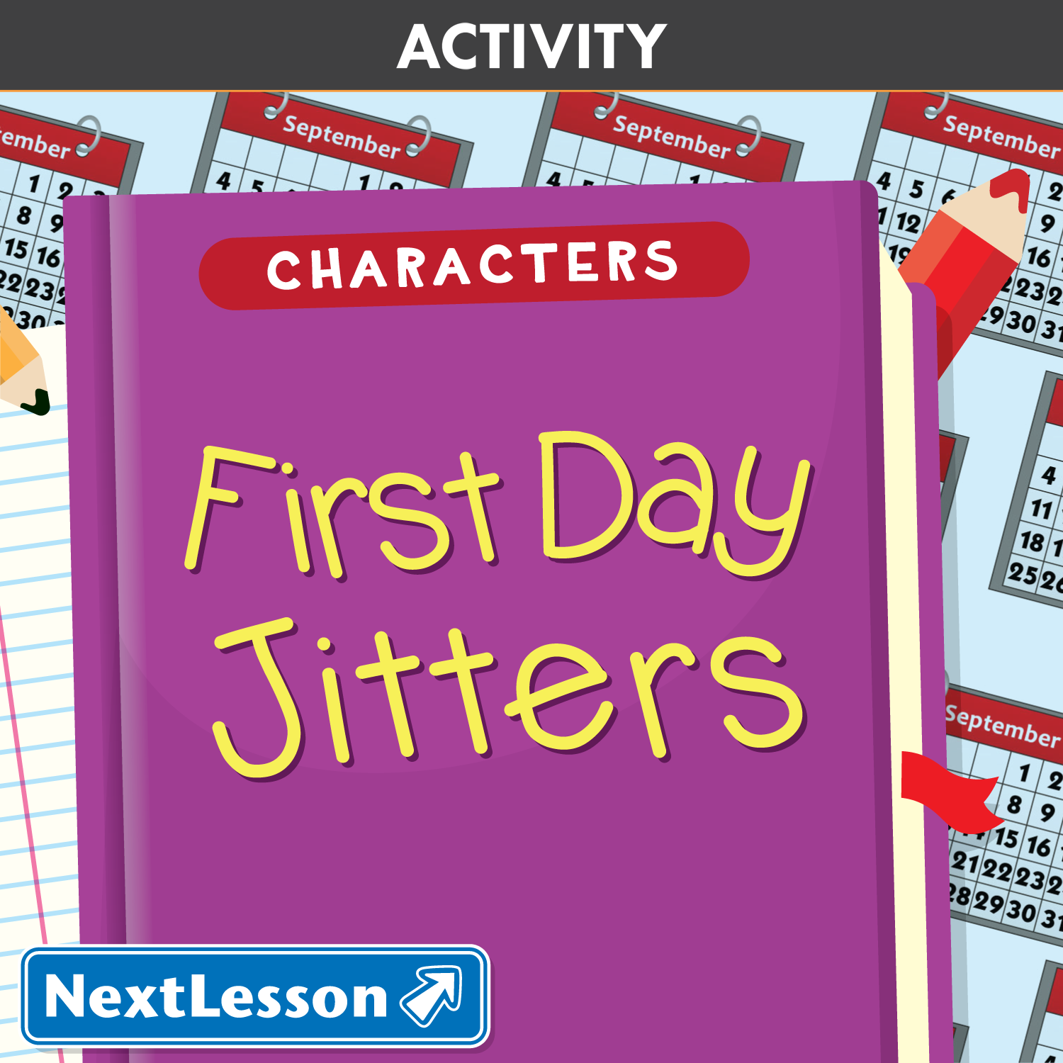 An Introduction to Characters - First Day Jitters - First Day Jitters PNG