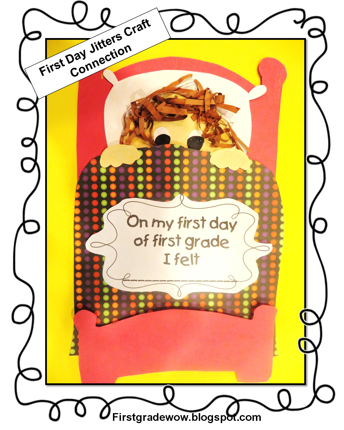 First Grade Wow: First Day Jitters! - First Day Jitters PNG