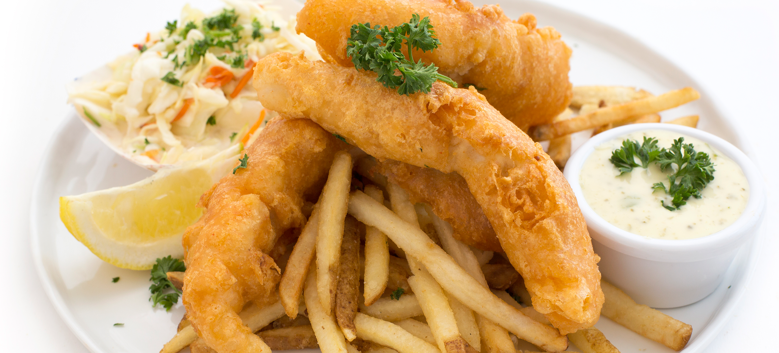 3 Piece Fish u0026 Chips - Fish And Chips PNG HD