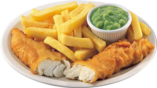 Fish N Chips - Fish And Chips PNG HD