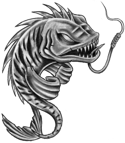 Fish Tattoos PNG - 925