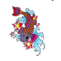 Fish Tattoos PNG - 913