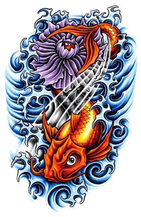 Fish Tattoos PNG - 909