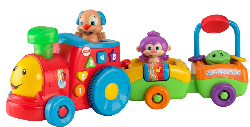 Amazon has the five-star rated Fisher-Price Laugh and Learn Puppyu0027s Smart  Train for $20.99 right now, regularly $35! - Fisher Price PNG