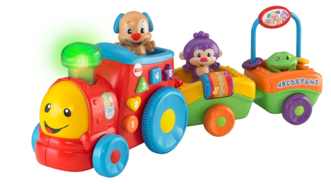 Puppyu0027s Smart Stages Train - Fisher Price PNG