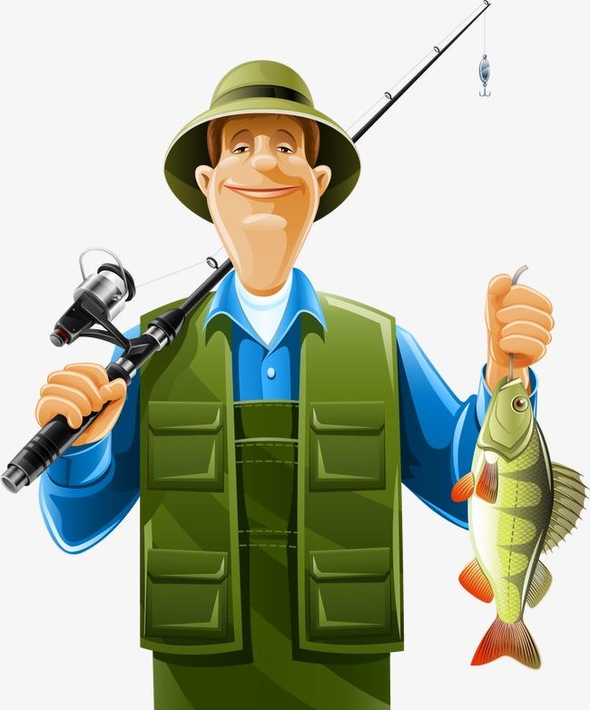 Fisherman PNG HD - 124734