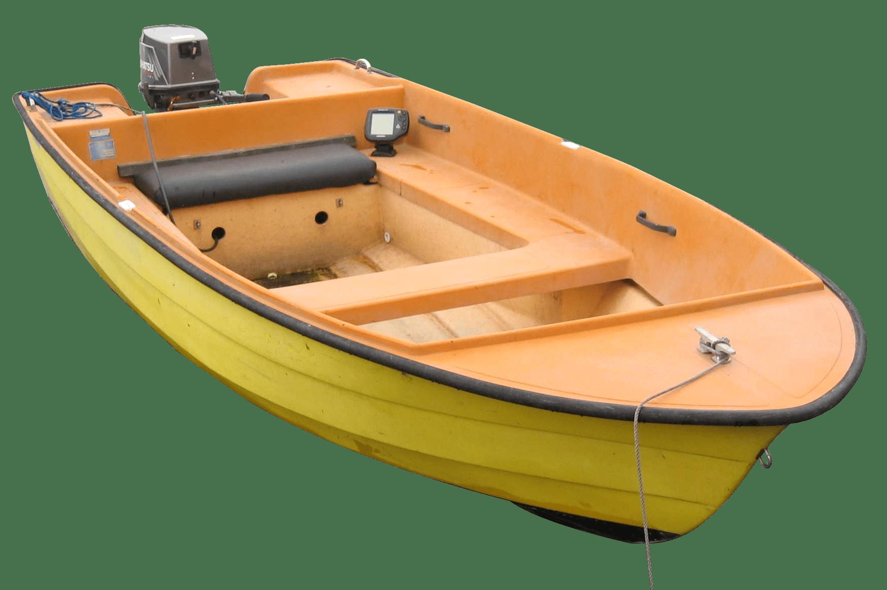 Small Fishing Boat - Fishing HD PNG