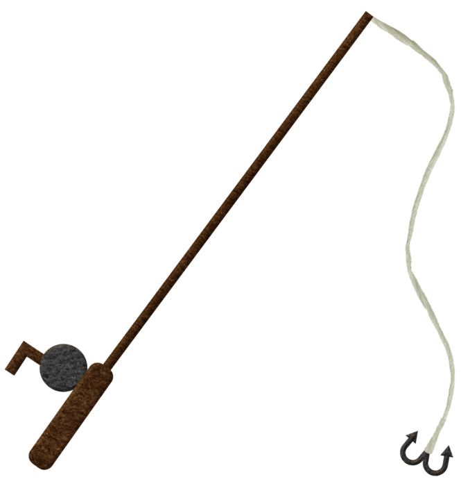 Fishing Pole PNG - 9024
