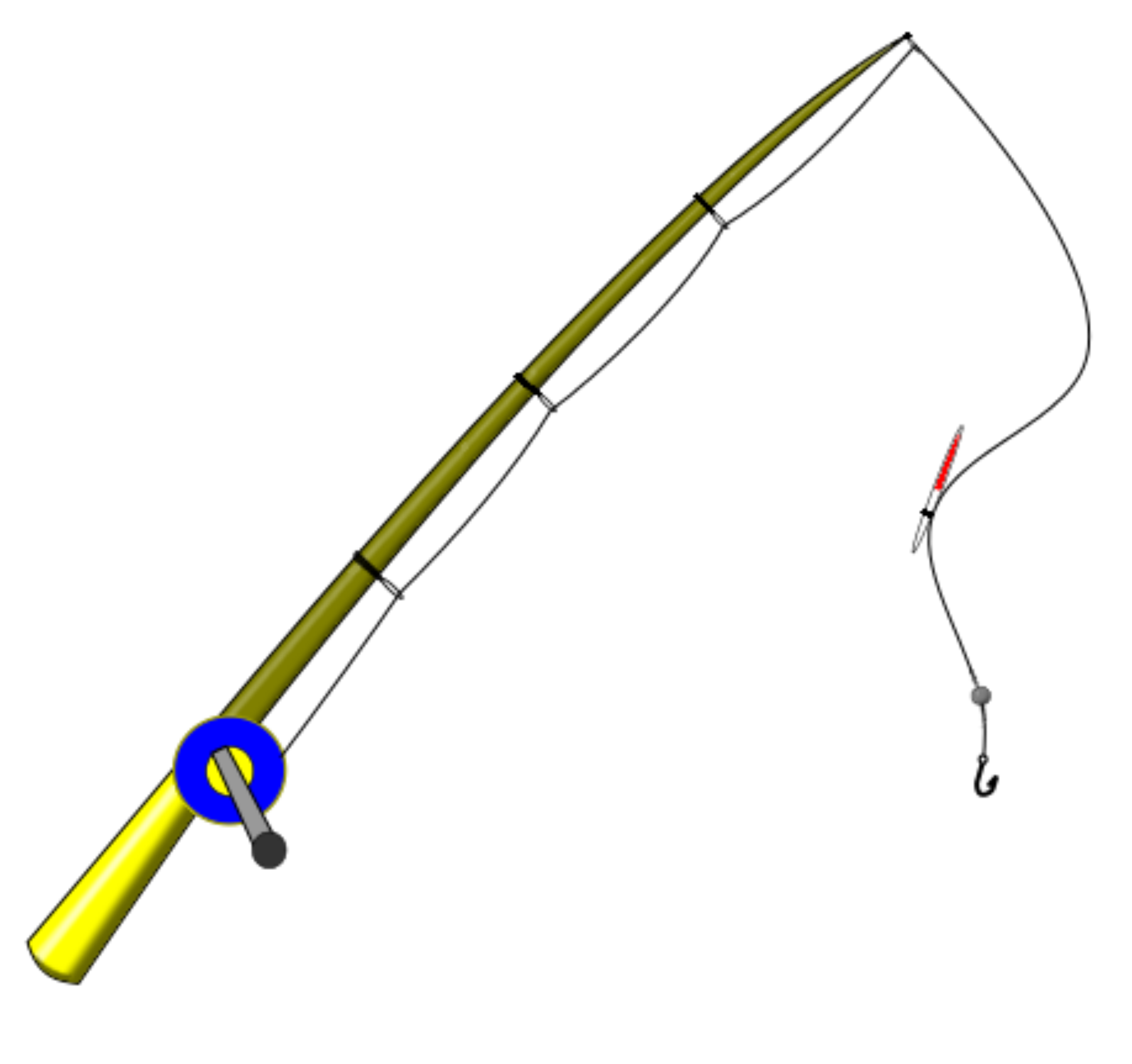 Fishing Pole PNG - 9041