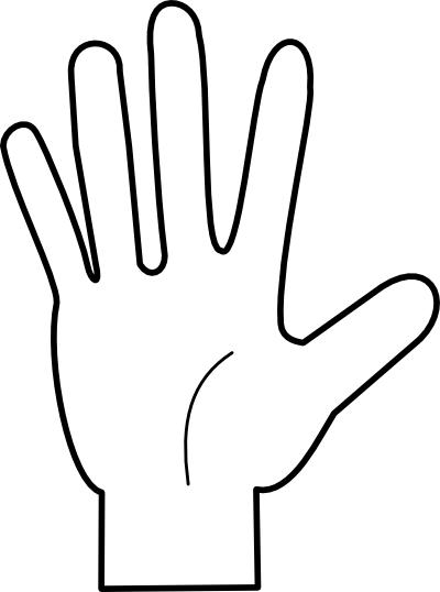 Five Fingers PNG - 66831