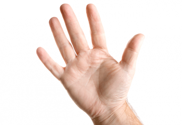 Five Fingers PNG - 66833