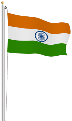 Download Indian Flag HD PlusPng.com  - Flag HD PNG
