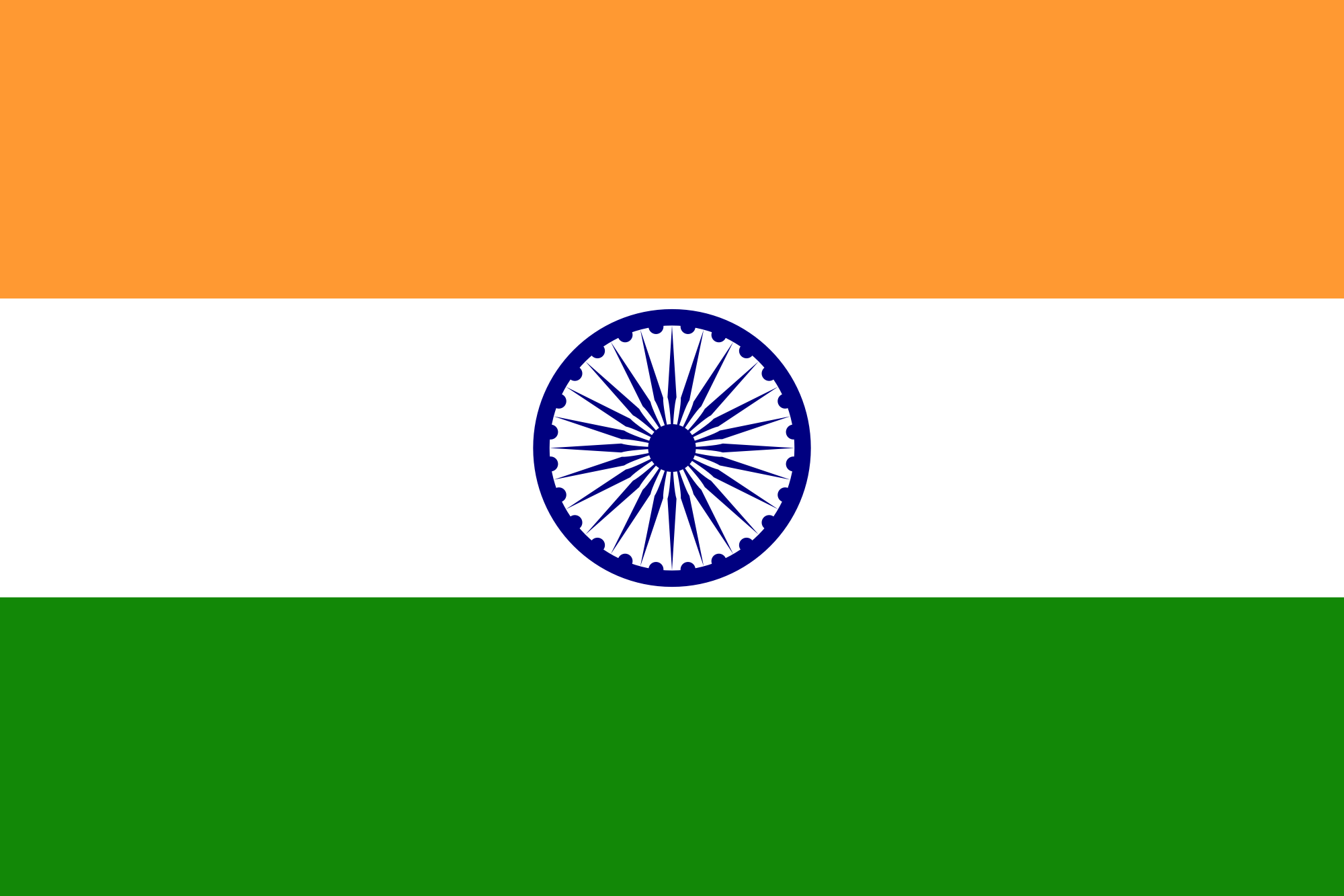 Flag of India.png - Flag HD PNG