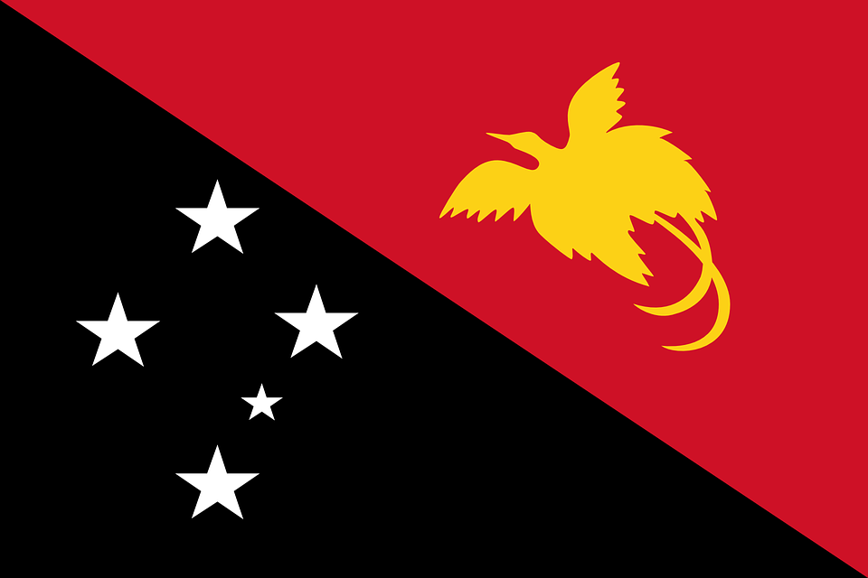 Papua New Guinea, Flag, National Flag, Nation, Country - Flag HD PNG