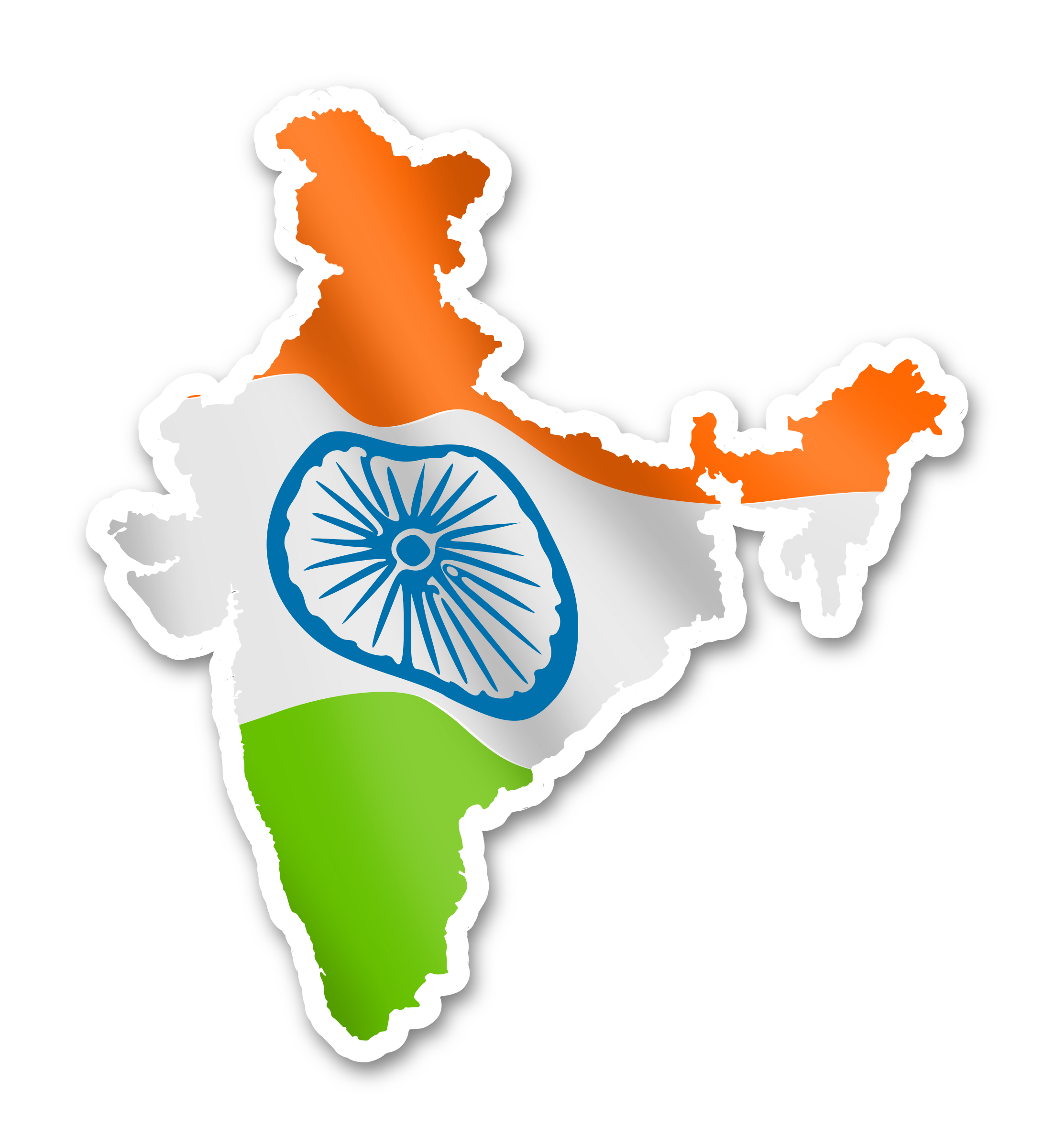 Pin India Clipart Angry #13 - Flag Hoisting PNG