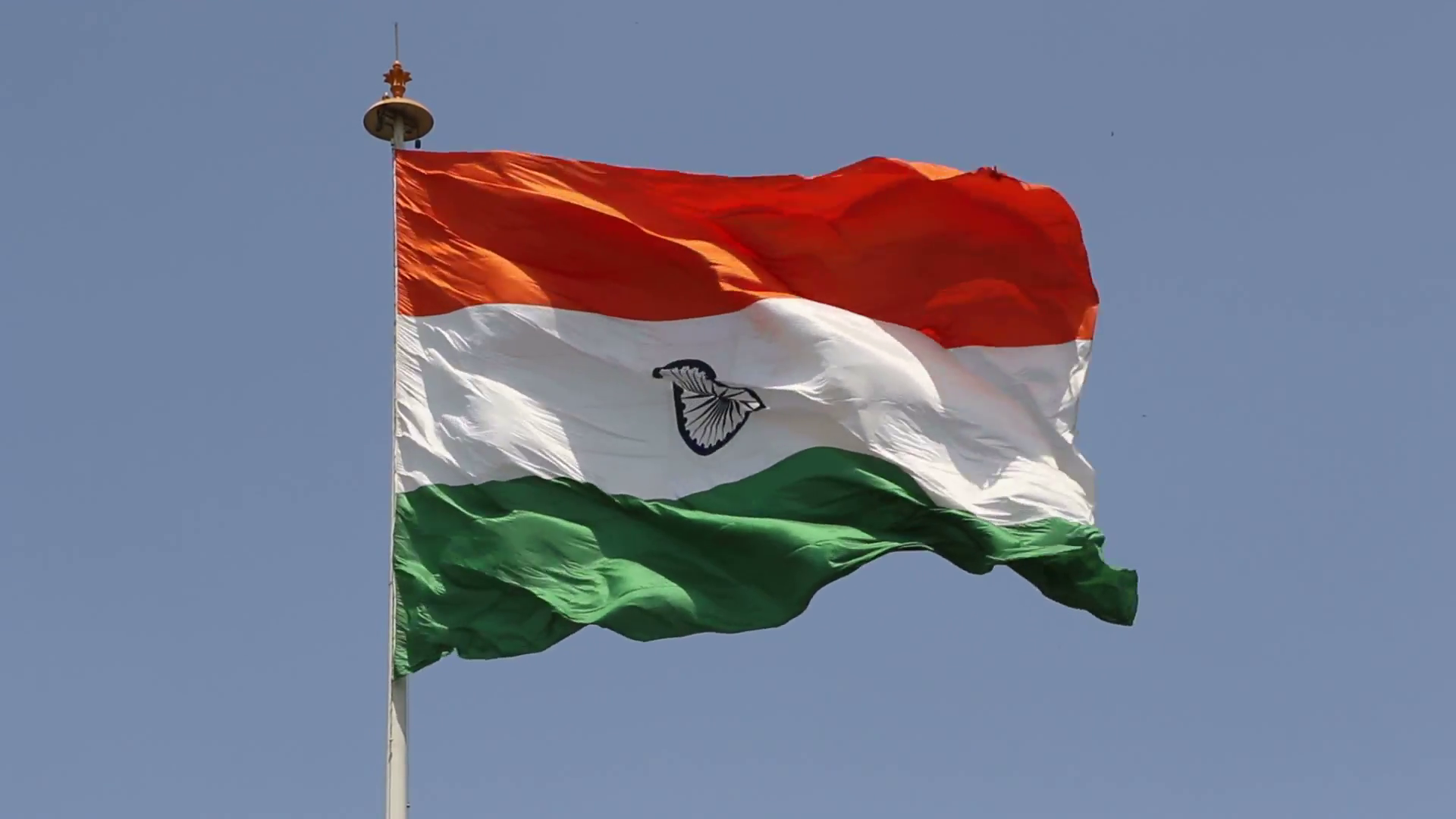 This Tiranga, The National Flag Of India Hoisted At Central Park, Connaught  Place, New Delhi Is One Of The Largest National Flags Of India. - Flag Hoisting PNG