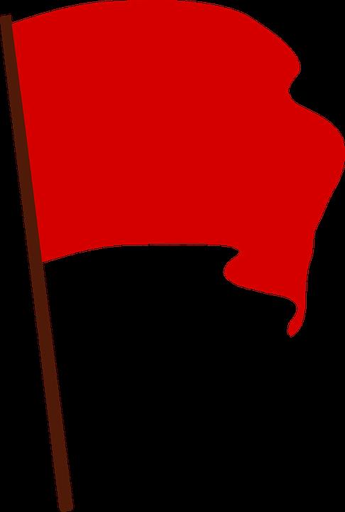 Communist, Flag, Protest, Red, Revolution, Socialist - Flag Logo PNG