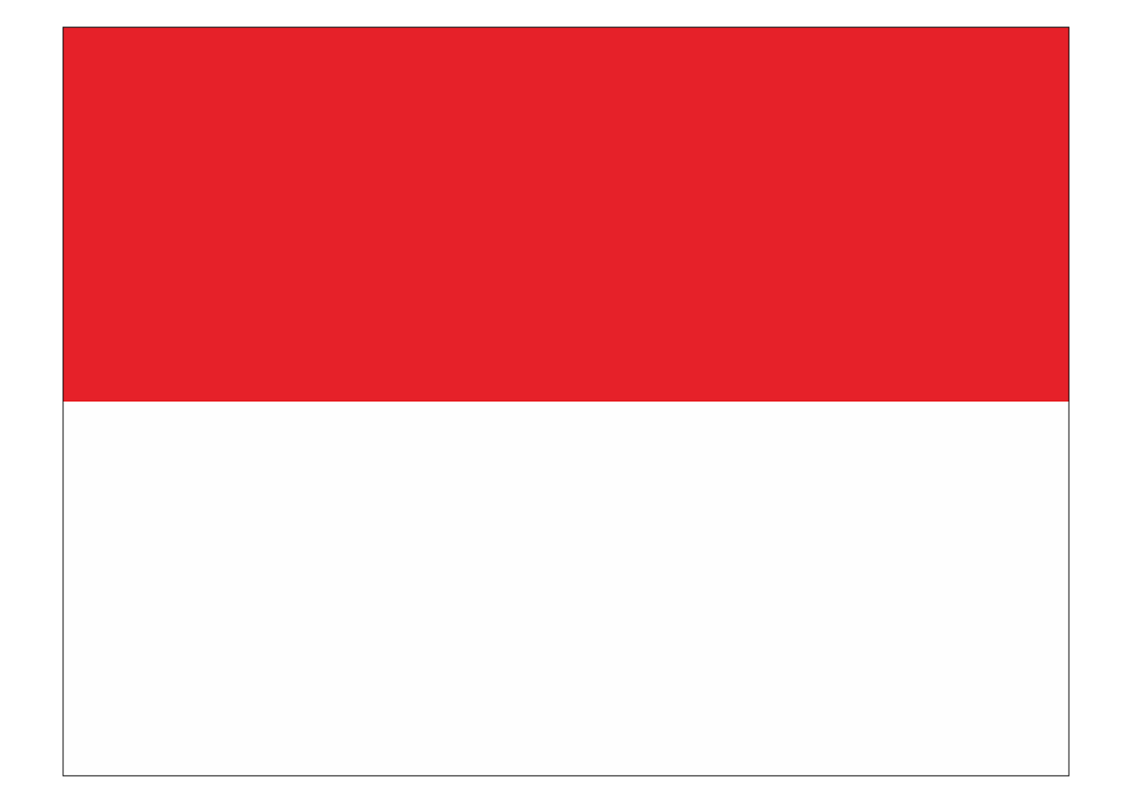 Republic Of Indonesia Flag Logo Vector - Flag Logo Vector PNG
