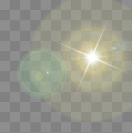 lens flare · PNG