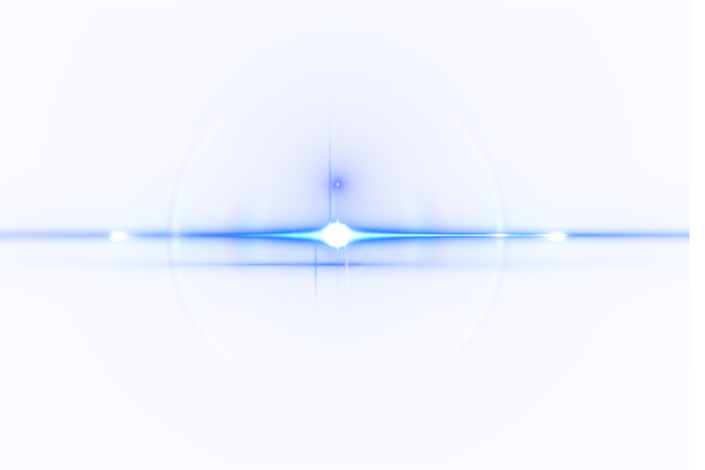 PNG BLUE Lens Flare 2 by vele