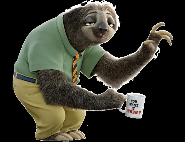 Sloth PNG - 6269