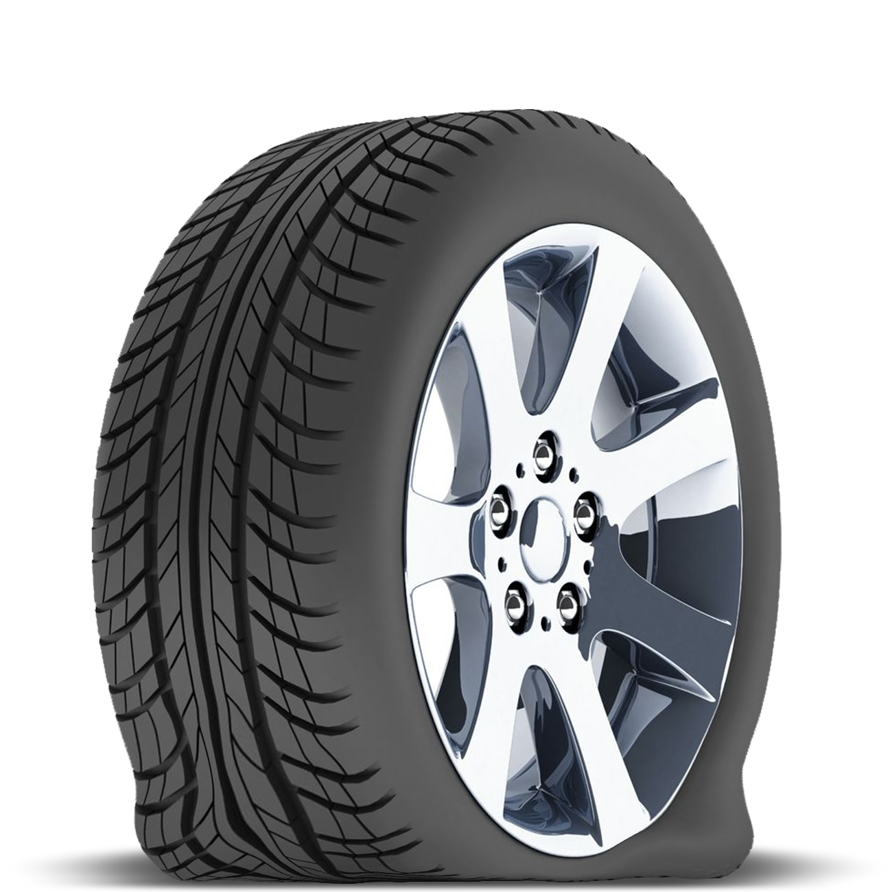 Flat Tyre PNG