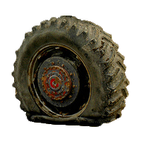 Flat Tyre PNG - 81252