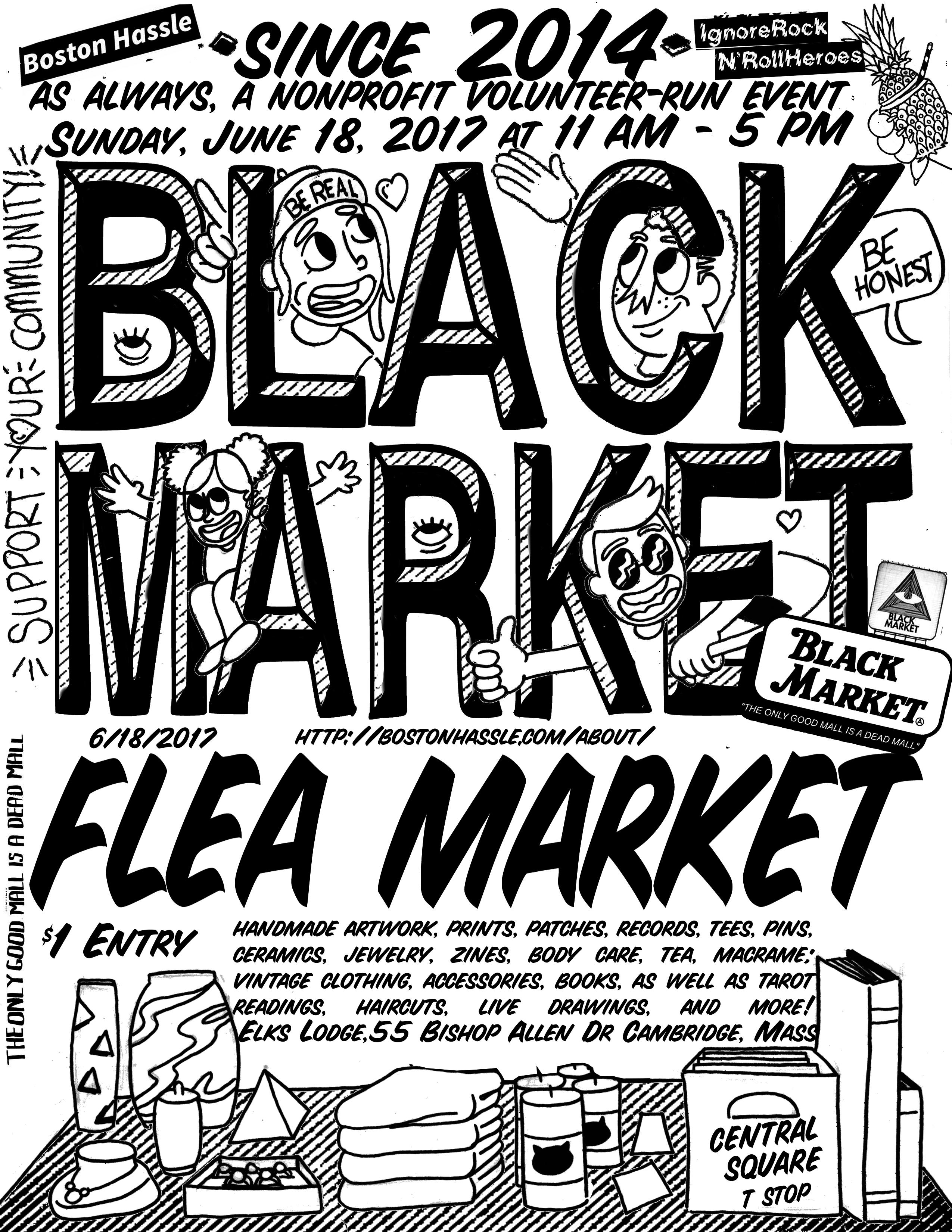 Flea market Vector, Creative,