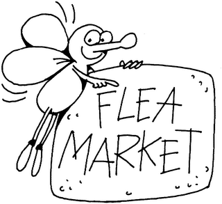 BS1NW flea market - Flea Market PNG Black And White