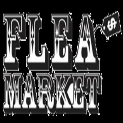 Flea Market Sign - Flea Market PNG Black And White