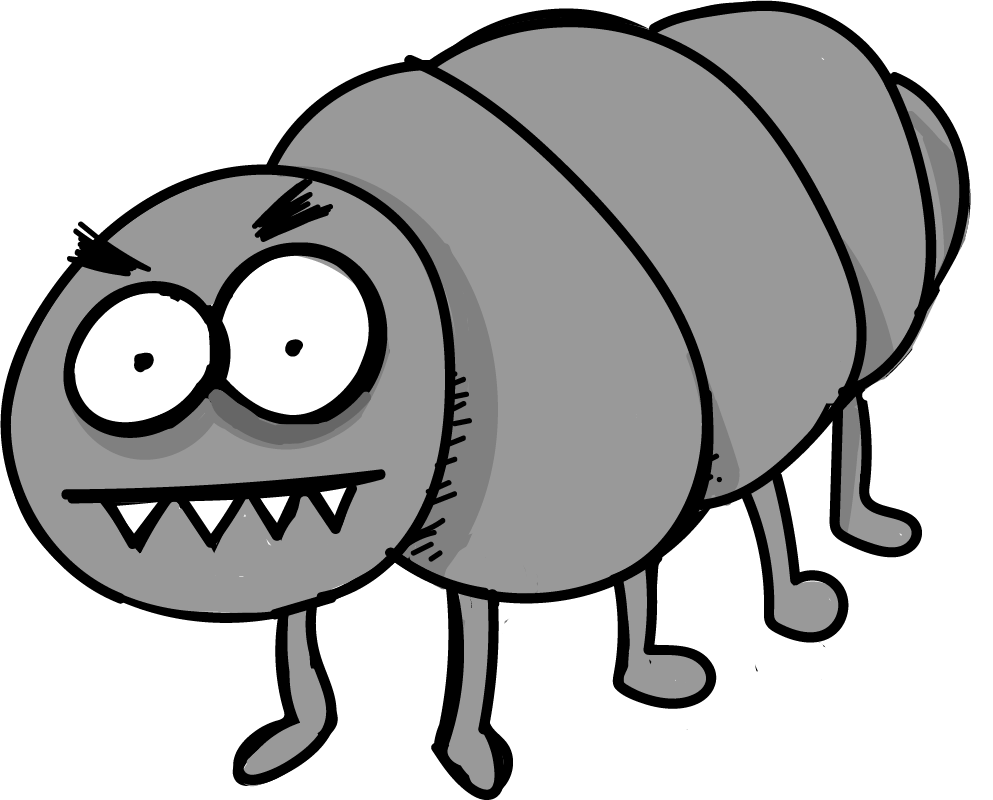 fleas - Flea PNG Black And White