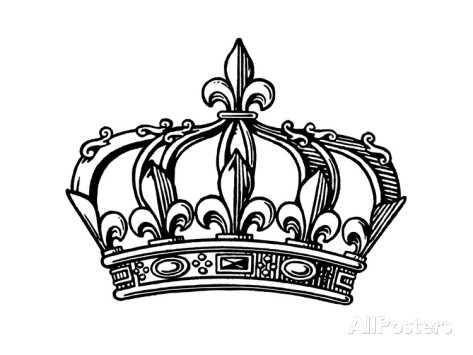 Fleur-de-lis Crown - Fleur De Lis Crown PNG