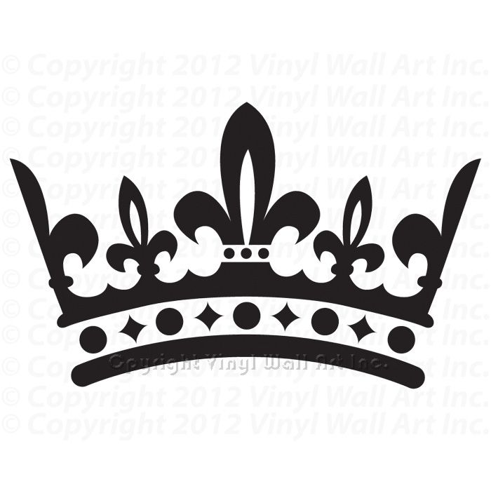 Fleur de Lis Crown - Louisvil