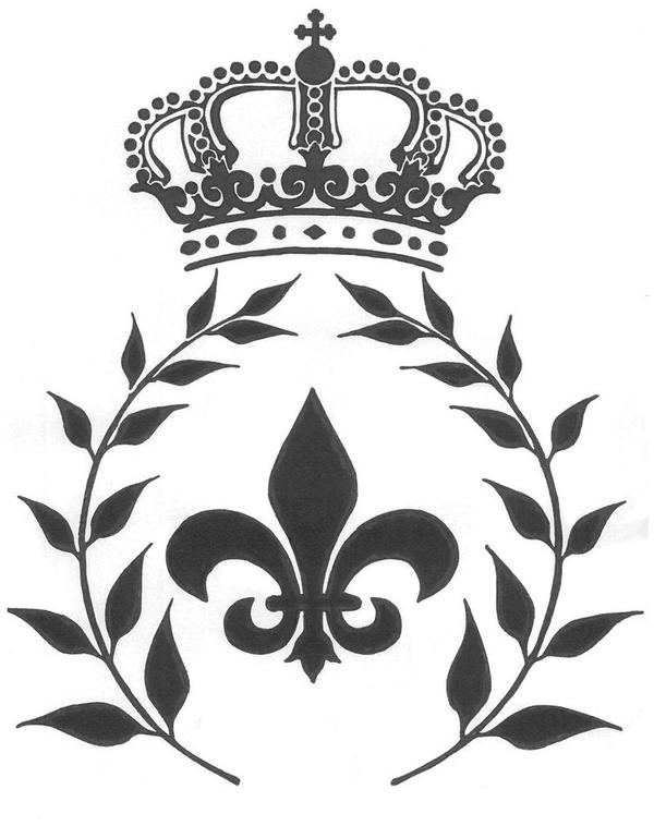 Fleur De Lis Crown PNG