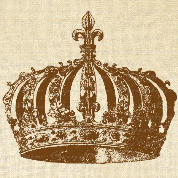 Items similar to French Crown Royalty Year 1589 Fleur De Lis Digital . - Fleur De Lis Crown PNG