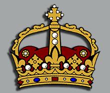 Three Fleurs - Fleur De Lis Crown PNG