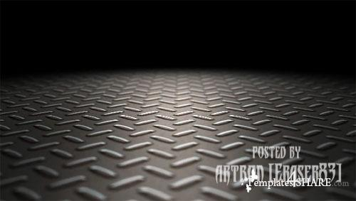 HD Industrial Metal Floor Loop - Footage for After Effects (Videohive) - Floor PNG HD