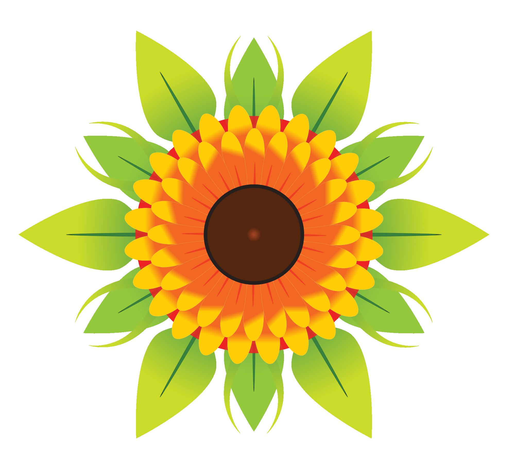 Flower Vector PNG Image - Floral PNG