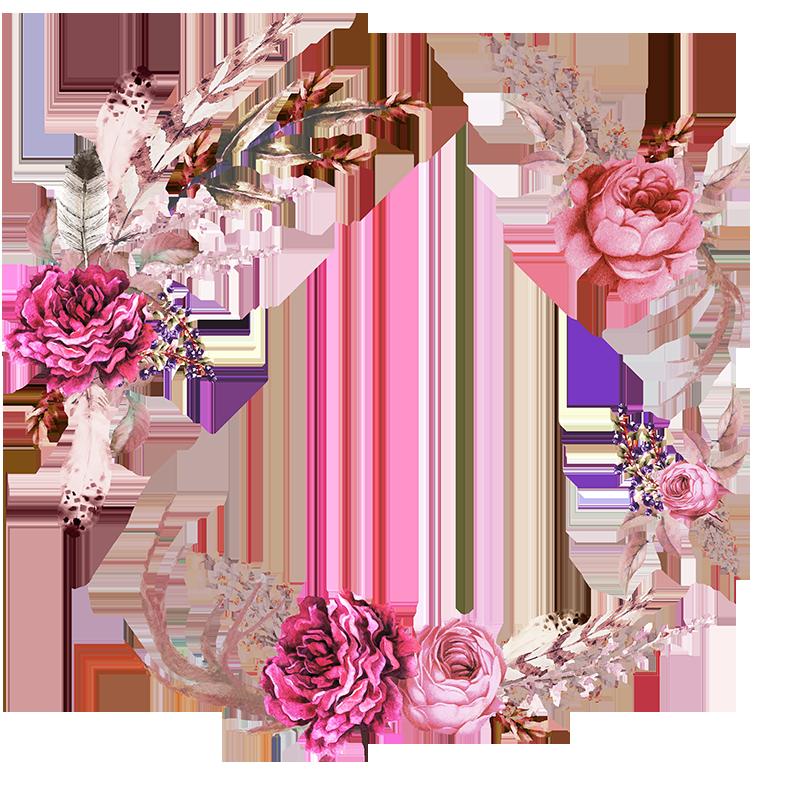Frames floral em png para baixar - Floral PNG