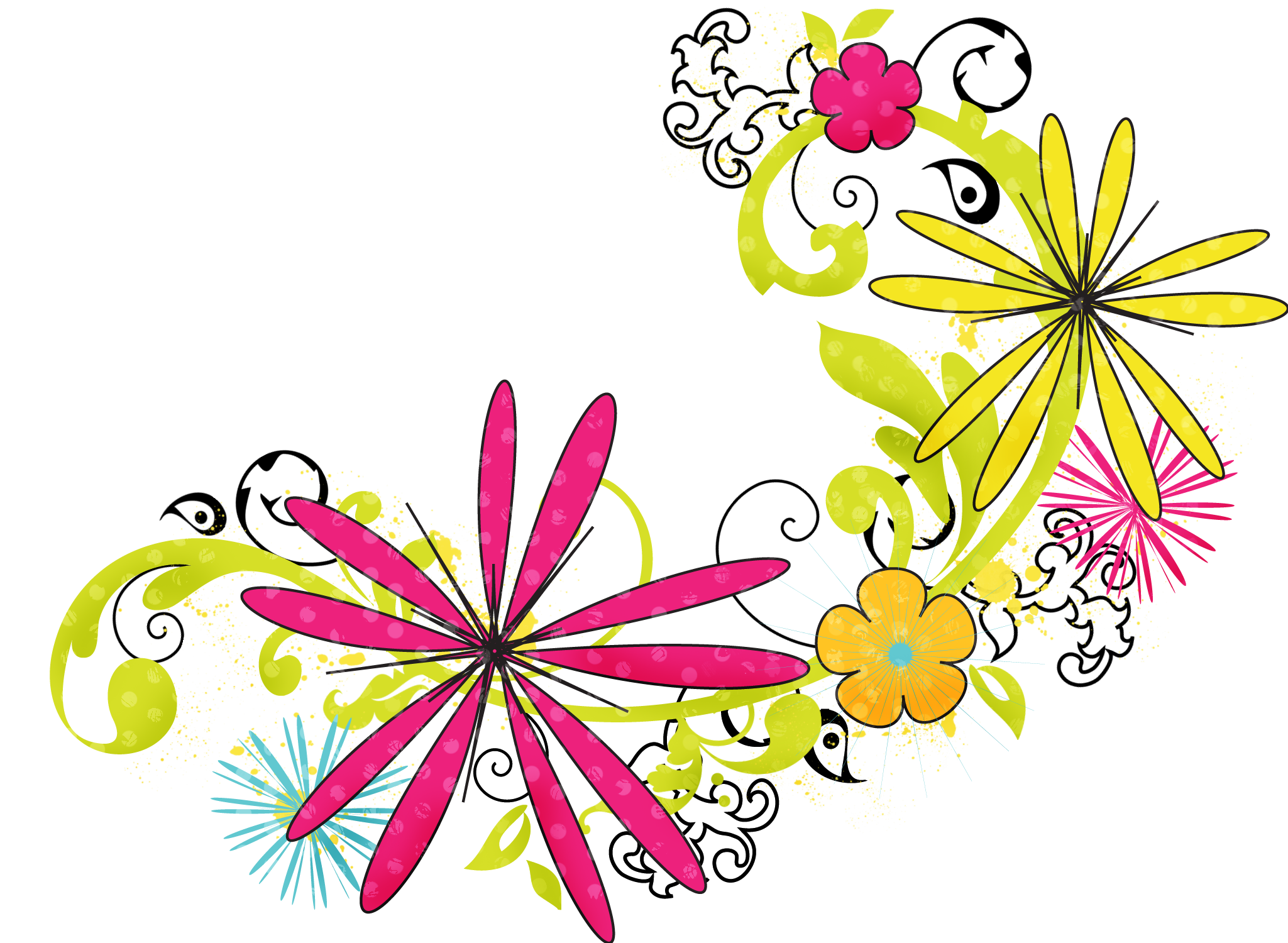 Download PNG image - Floral Png Hd - Floral PNG HD