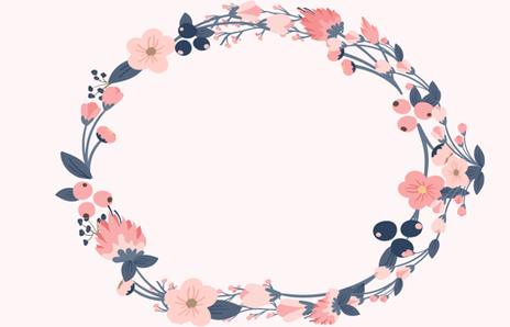 Floral Wreath PNG - 41197