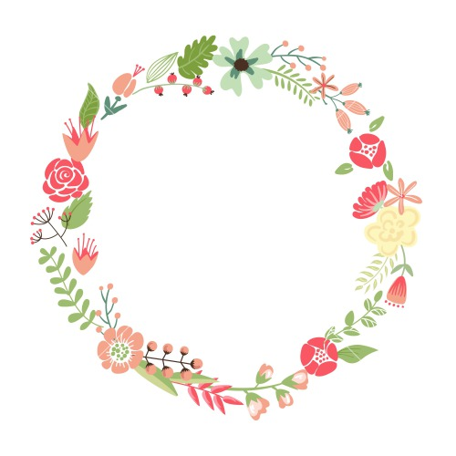 Floral Wreath PNG - 41190