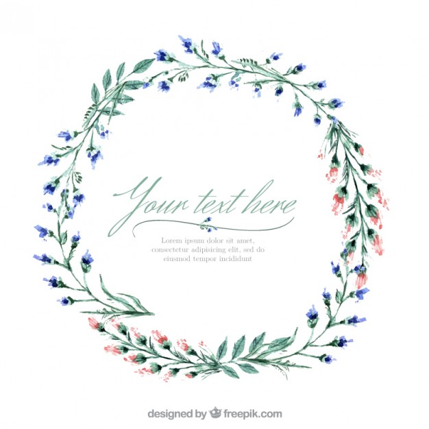 Floral Wreath PNG - 41189