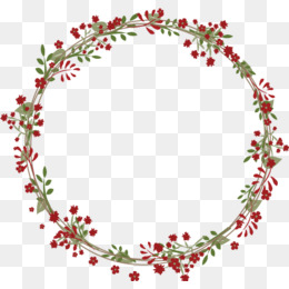 Floral Wreath PNG - 41196